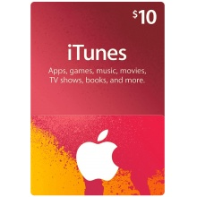 USD10 Apple iTunes Gift Card 禮物卡 US