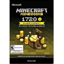 Minecraft: Minecoins Pack: 1720 Coins  (適用Xbox One與手機板)