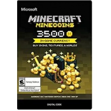 Minecraft: Minecoins Pack: 3500 Coins   (適用Xbox One與手機板)